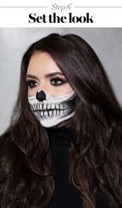 skeleton makeup tutorial 2017 the prettiest skeleton costume howto