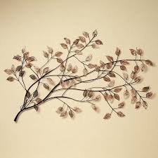 metal leaves wall decor branches at sunrise leaf metal wall sculpture metal leaf branch wall decor