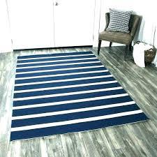 striped rug runners blue