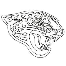 323x430 jaguar coloring page click to see printable version of baby jaguar. Jacksonville Jaguars Team From Nfl Coloring And Activity Page Nfl Logo Sports Coloring Pages Jaguars