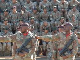 Army Reserve Monthly Pay Chart Sandf Full Time And Reserve Force Rank And Salary Levels