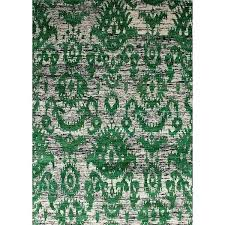 hand knotted sari silk green rug rugs reviews