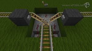 minecarts and railways minecraft  3 way intersection