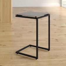 Marble c table Brass Bonetti Shaped End Table Feeasy Marble Side Table Wayfair