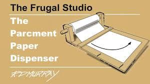 the stay wet parchment paper dispenser