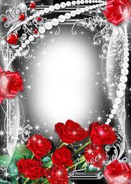 valentines flower angels frame png photo romantic rose frames svg freeuse