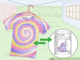 image titled tie dye with food coloring step 20