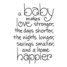 Card Sentiment Baby Love Quotes Happy Family Quotes Baby