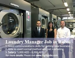 Laundry Manager Job In Dubai Highlyjobs