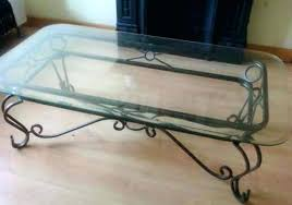 rod iron coffee table iron glass coffee table hectorayuso throughout wrought and intended for decor 1 rod iron coffee table