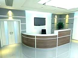 office reception layout ideas. Office Reception Desk Ideas Receptionist Area Design Small Decorating Table Furniture Interior Layout