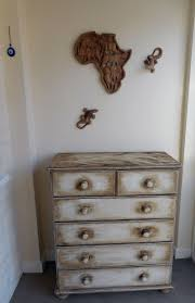 In situ the chest of drawers ... after its make over! | Dresser as  nightstand, Annie sloan chalk paint, Antique dresser