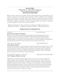 Account Manager Resume Samples Finance Manager Resume Sample Best Of ...