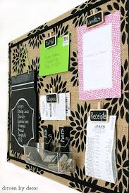 cork board office. Beautiful Office 5 Use A Stencil On Burlap And Frame Your Board To Cork Board Office O