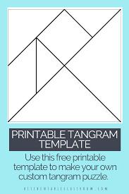 Tangram Designs Printable Printable Tangrams An Easy Diy Tangram Template Make