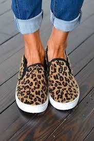 Walk The Floor Leopard Slip On Sneaker Sizes 5 5 10 In