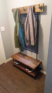 Image Storage Bench Image Etsy Industrial Entryway Coat Rack Bench Entryway Bench Shoe Etsy