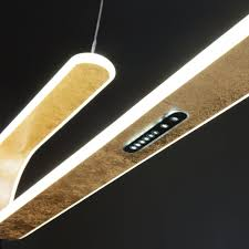 Светодиодный подвесной <b>светильник 90072/1 золотой</b>