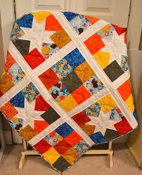 Amazon.com: Primary Color Baby Quilt, Boys Crib Quilt, Modern ... & Amazon.com: Primary Color Baby Quilt, Boys Crib Quilt, Modern Nursery  Bedding, Toddler Blanket, Stars and Nine patch blocks Ready to Ship, ... Adamdwight.com