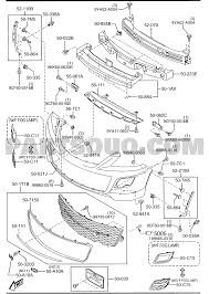 Y2 body exterior trim cx 9 2011 autv02 mazda genuine parts mazda 626 engine diagram y2