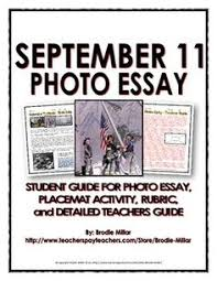 attacks reading and questions key  11 photo essay handout place mat activity rubric teachers guide