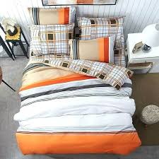 orange and white comforter black and orange bedding orange and white bedding fashion life art personalized orange and white comforter