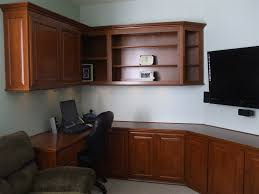 in home office. Custom Cabinets In Home Office