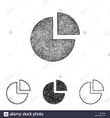 Line Chart Sketch Chart Icon Set Sketch Line Art Stock Vector Art