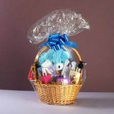 cellophane shrink wrapper 24 x 30 for gift basket her 5 bags does not include basket or her on on