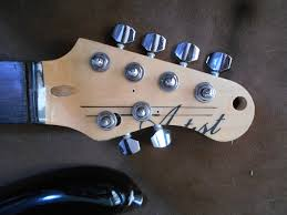 cut and drilled headstock