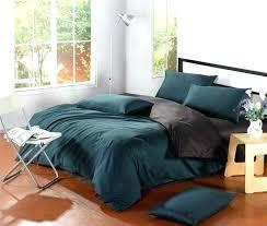 linen duvet cover modern dark green duvet cover simple bedroom ideas with modern brown bedside table