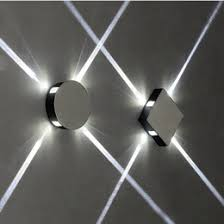 wall lighting effects. Effects Wall Lamps 2018 - Simple Modern Creative Hotel Engineering KTV Square Round LED Aluminum Lighting