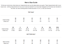 All Brand Size Guides
