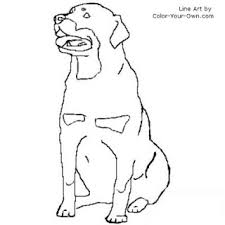 Small Picture rottweiler coloring page inkspired musings Lets all go to the