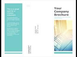 Six Panel Brochure Brochures Office Com