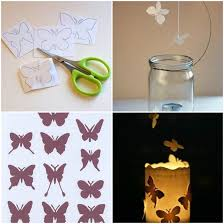 how to make erfly candle decor ideas step by step diy tutorial instructions how to