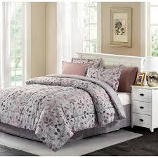 brown grey bingham bed in bag set