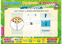 Decimal To Fraction Chart Download Fractions Decimals Percents Interactive Software Download