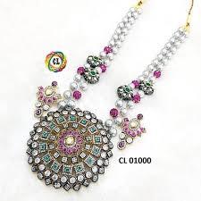 <b>Statement</b> Jewellery - Victorian Tumble Taiwan <b>Shell Pearl</b> ...