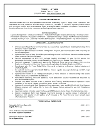 Purchase Resume Samples Cover Letter Examples Supply Chain Logistics Manager Resume Samples
