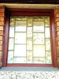 glass block basement windows cost window improbable michigan