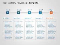 Flow Template Business Process Powerpoint Template 9 Process Flow