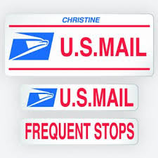 Rural Carrier Signs And Post Office Workers Supplies By Kc