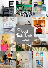 15+ Cool Kids Desk Ideas With Lots Of DIY Ideas!