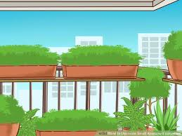 image titled decorate small.  Titled Image Titled Decorate Small Small Apartment  Balconies Step N For Image Titled Decorate Small E