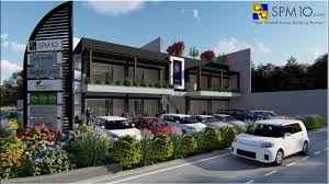 Design Concept For Commercial Building 2 Storey Commercial Building Concept