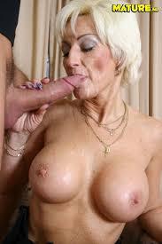 Blonde mature women sex