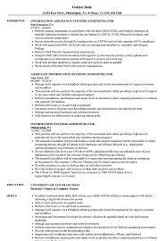 Computer Information Systems Resume Sample Systems Administrator Information Systems Resume Samples Velvet Jobs 4