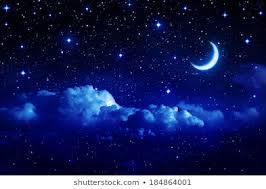 <b>Starry Sky Moon</b> Images, Stock Photos & Vectors | Shutterstock