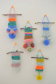 amazing small wall hanging make it weaving with kid craft and d i y art yarn for big kitchen bathroom quilt tapestry fabric metal patchwork indian
